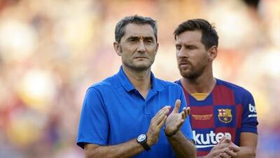 """Valverde, tranquilo con Messi: """"Ha tenido una gran evolución"""""""
