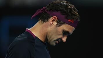 Roger Federer se baja del Abierto de Australia