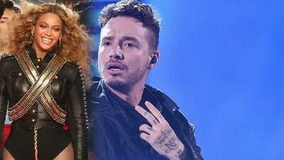 Exclusiva: Beyoncé y J Balvin juntos al ritmo de 'Mi Gente'