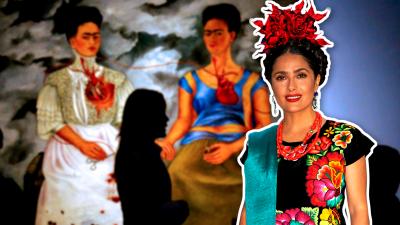Salma Hayek se transforma (otra vez) en Frida Kahlo