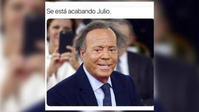 Los mejores memes de la semana: Julio Iglesias se va para darle paso a agosto