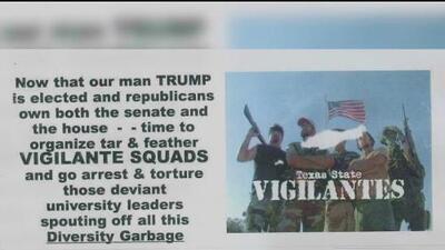 Estos son los casos de acoso y amenazas racistas que las universidades están investigando tras la elección de Trump