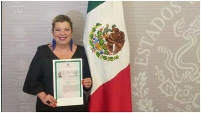 Ya es mexicana: Margarita 'La Diosa de la Cumbia' presumió en sus redes sociales su nueva nacionalidad