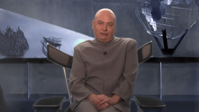Dr. Evil is back and running for congress