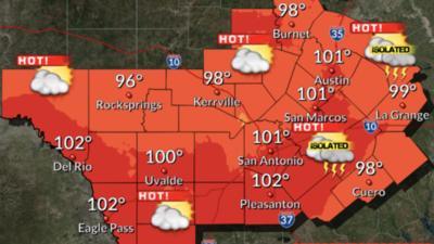 Cielos despejados y temperaturas cálidas para Austin