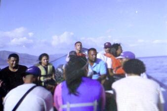 En fotos: La embarazada venezolana y su familia que intentaron huir de la crisis y desaparecieron en el mar