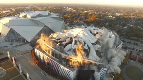 Desde Wembley hasta el TEC, recordamos las demoliciones de estadios más emocionantes