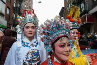 Fotos: Desfilan en las calles de NY para celebrar el Año Nuevo Chino