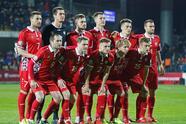 Soccer Football - Euro 2020 Qualifier - Group H - Moldova v France - Zimbru Stadium, Chisinau, Moldova - March 22, 2019 Moldova team group REUTERS/Valentyn Ogirenko