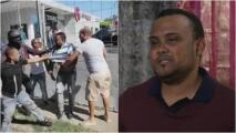 """Por poco """"matan"""" a taxista señalado por equivocación de intentar secuestrar a una niña"""