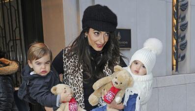 Los gemelos que (casi) no has visto: así de grandes están los hijos de George Clooney y Amal