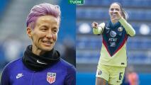 "Jugadora del América se cambia el nombre a ""Mexican Rapinoe"""