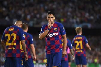 Luis Suarez, ¡goleador indiscutible!