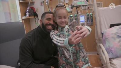 Drake y un corazón nuevo: el regalo de cumpleaños que esta pequeña jamás olvidará