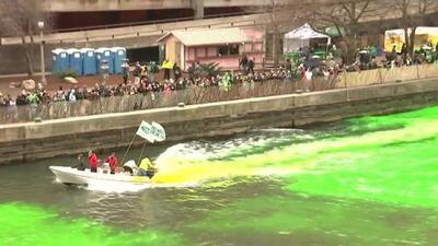 Chicago se visitó de verde para celebrar el Día de San Patricio