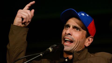 Henrique Capriles denuncia intervenciones militares en la policía de Miranda, Venezuela