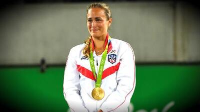 Mónica Puig le dio a Puerto Rico la primera medalla de oro en unos Juegos Olímpicos