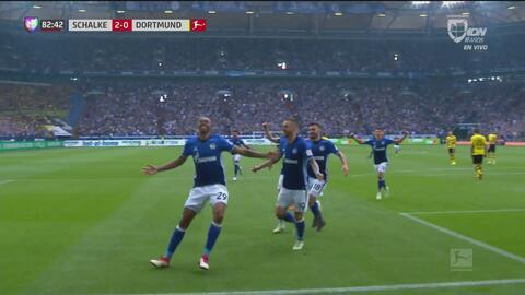Naldo rompe las redes y pone el 2-0 para el Schalke 04