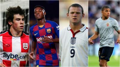 Los jugadores más jóvenes con grandes debuts