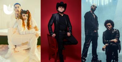 Uforia #NewMusicFriday Picks: ¡Comenzando el mes con buenas vibras y buena música!