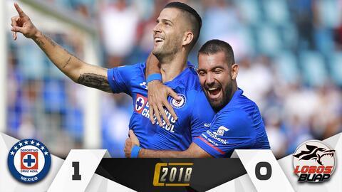 La Máquina ya pita en el Azul con gol de penalti