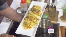 La receta: filete de res y arroz con calamares