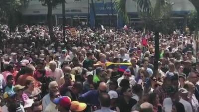 La Asamblea Nacional de Venezuela realiza un cabildo abierto y anuncia medidas tras la juramentación de Maduro