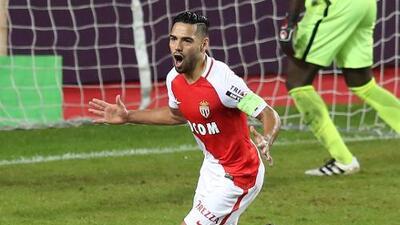 Radamel Falcao lidera goleada del Mónaco con un doblete