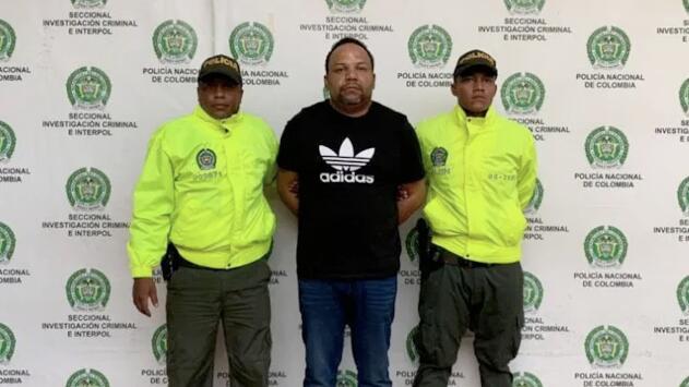 Atrapan al presunto narco Cesar 'El Abusador' Peralta en Colombia