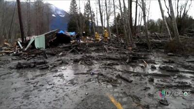 Se eleva a 14 muertos y 108 desaparecidos tras el deslave en Washington