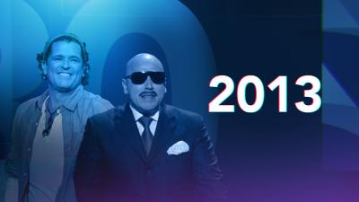 La gran fiesta de los 25 años de Premio Lo Nuestro en 2013