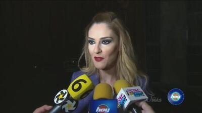 A Chantal Andere le dio risa ver las reacciones al video donde aparentemente su esposo la jalonea