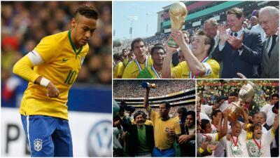 Ze Roberto pidió que Neymar deje de ser el capitán de Brasil: estos son algunos históricos que llevaron ese gafete