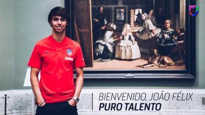 Tiembla Europa: Joao Félix llega al Atlético de Madrid