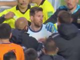 El hombre que encaró a Messi es argentino y admirador del crack