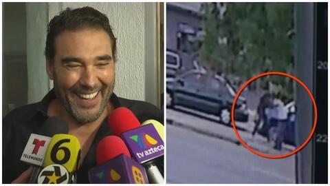 La reacción de Eduardo Yáñez al preguntarle qué hubiera hecho en la situación de Pablo Lyle durante el incidente