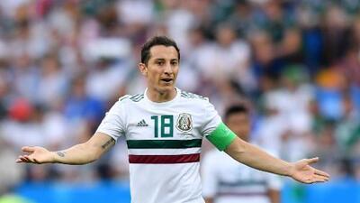 Andrés Guardado rechazó a la MLS por llegar con buen nivel al Mundial