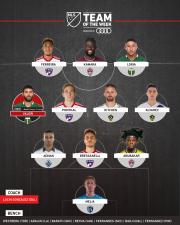 La magistral producción de Diego Valeri lidera al Equipo de la Semana 16 en MLS