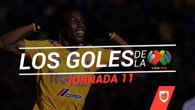Revive los goles de la Jornada 11 del Clausura 2019