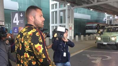 Jérémy Ménez llega en silencio a la Ciudad de México tras ser operado