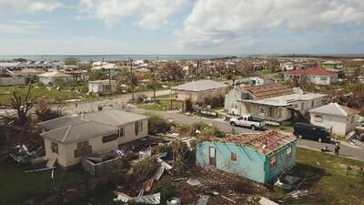 360 video: Barbuda after the storm