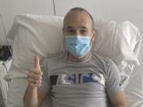 Andrés Iniesta es operado en Barcelona y estará 4 meses de baja