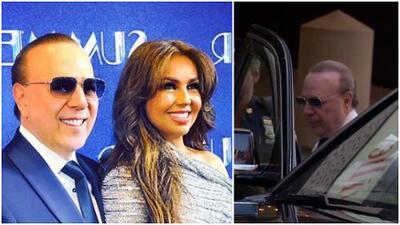 ¿Qué le pasó al esposo de Thalía?: lo vimos cambiándose de ropa dentro de un carro