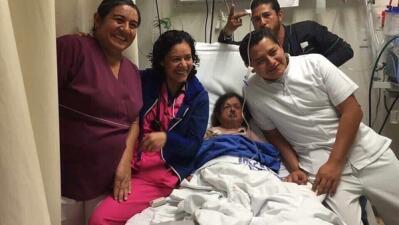 Polémica por esta foto de Margarito en su lecho de muerte
