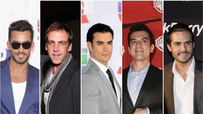 Los papacitos de Premios Juventud 2012
