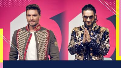 Las chamarras de Maluma y Julián Gil demostraron que tienen el estilo de los grandes en Premios Juventud