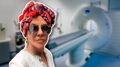 """""""No me siento con ánimos de hablar con la gente todavía"""": Rebecca Jones reapareció en plena lucha contra el cáncer"""