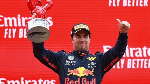 """Checo tras podio en GP de Francia: """"Ha sido una gran carrera"""""""