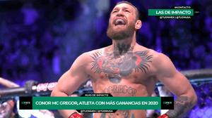 McGregor, el deportista mejor pagado; Canelo, fuera del Top 10