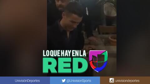 Como un héroe: Así fue ovacionado en un restaurante de Turín Cristiano tras su 'hat-trick' en la Champions